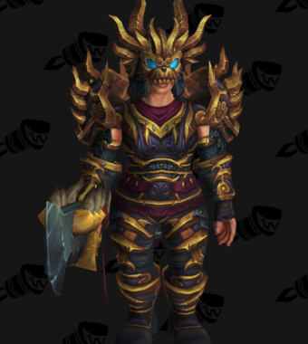 Warrior PvE Arena Season 13 Alliance Female Set