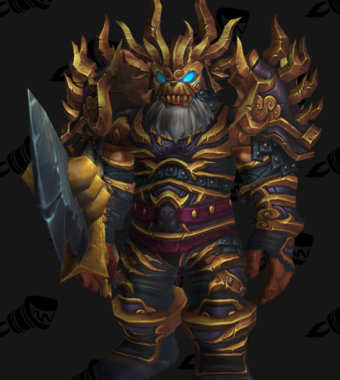 Warrior PvP Arena Season 13 Alliance Male Set