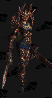 Warrior PvP Arena Season 13 Horde Male Set