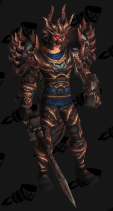 Warrior PvP Arena Season 13 Horde Female Set