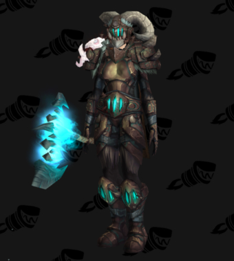 Warrior PvE Arena Season 14 Alliance Female Set