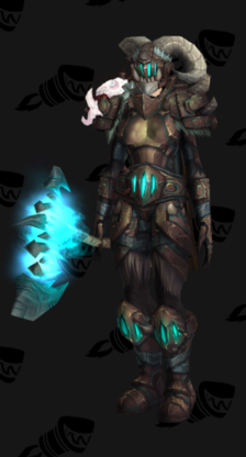 Warrior PvP Arena Season 14 Alliance Male Set
