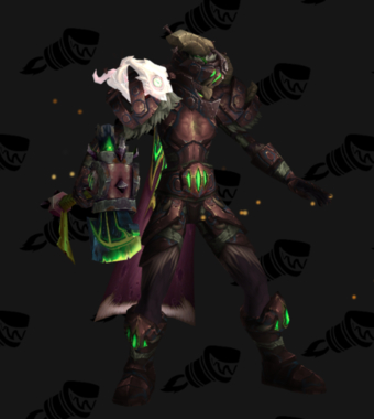 Warrior PvE Arena Season 15 Alliance Female Set
