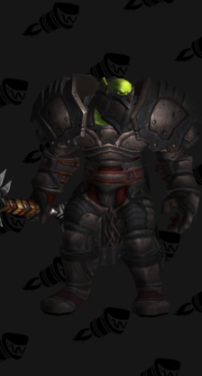 Warrior PvP Arena Season 5 Epic Male Set (Level 200)