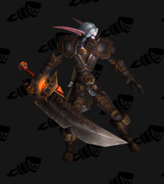 Warrior PvE Arena Season 5 Rare Female Set