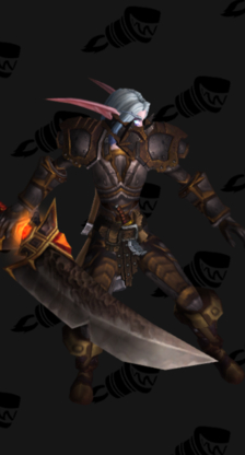 Warrior PvP Arena Season 5 Rare Female Set