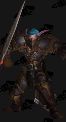 Warrior PvP Arena Season 5 Rare Male Set