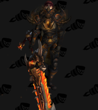 Warrior PvE Arena Season 8 Female Set