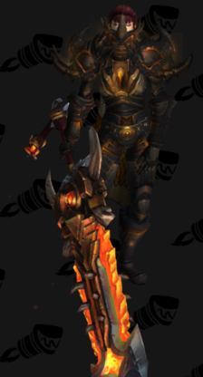 Warrior PvP Arena Season 8 Male Set