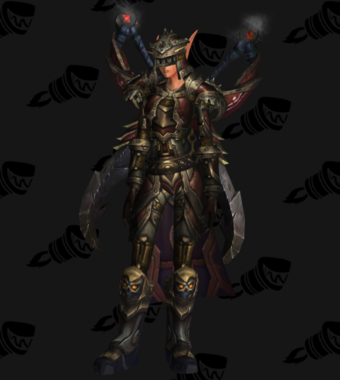 Warrior PvE Arena Season 9 Elite Female Set