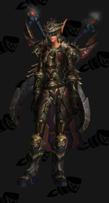 Warrior PvP Arena Season 9 Elite Female Set