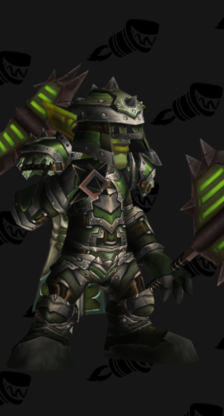 Warrior PvP Arena Season 9 Male Set