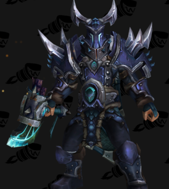 Warrior PvP Arena Warlords Season 1 Blue Alliance Male Set