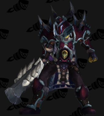 Warrior PvE Arena Warlords Season 1 Blue Horde Female Set