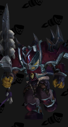 Warrior PvP Arena Warlords Season 1 Horde Male Set