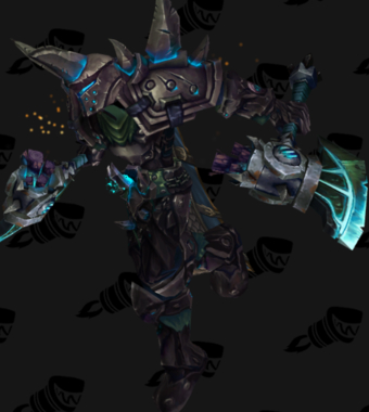 Warrior PvP Arena Warlords Season 1 Epic Alliance Male Set