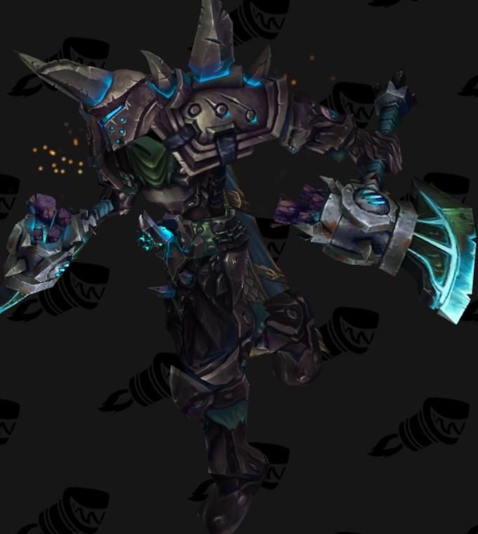 Transmogrification Warrior PvP Arena Warlords Season 1 Sets (Legion