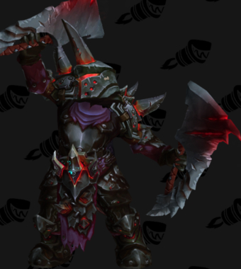 Warrior PvE Arena Warlords Season 1 Epic Horde Female Set
