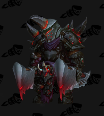 Warrior PvP Arena Warlords Season 1 Epic Horde Male Set