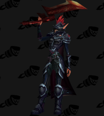 Warrior PvE Arena Warlords Season 2 Blue Horde Female Set