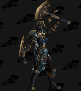 Warrior PvE Arena Warlords Season 2 Epic Alliance Female Set
