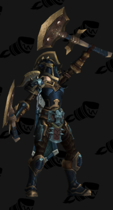 Warrior PvP Arena Warlords Season 2 Alliance Female Set