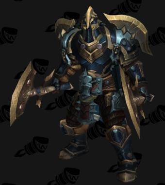 Warrior PvP Arena Warlords Season 2 Epic Alliance Male Set