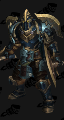 Warrior PvP Arena Warlords Season 2 Alliance Male Set