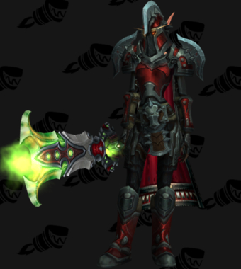 Warrior PvE Arena Warlords Season 2 Epic Horde Female Set