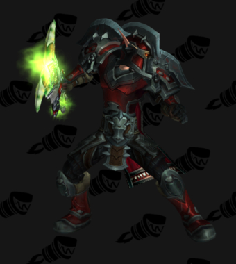 Warrior PvP Arena Warlords Season 2 Epic Horde Male Set