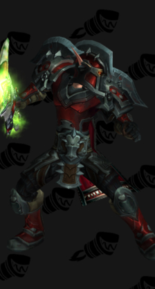 Warrior PvP Arena Warlords Season 2 Horde Male Set