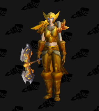 Warrior PvP Level 60 Epic Alliance Female Set