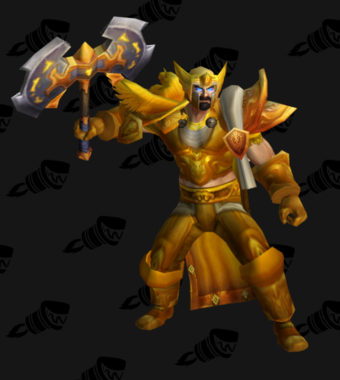 Warrior PvP Level 60 Epic Alliance Male Set