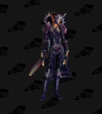Warrior PvP Level 60 Epic Horde Female Set