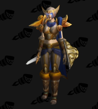 Warrior PvP Level 60 Rare Alliance Female Set