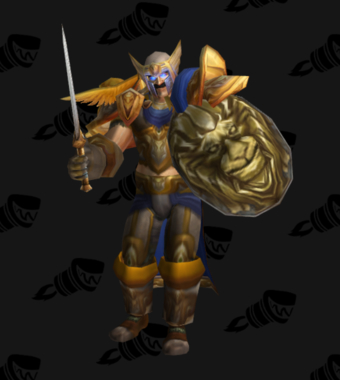 Warrior PvP Level 60 Alliance Male Rare Set