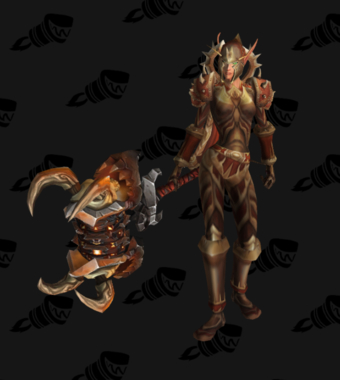 Warrior PvP Level 60 Horde Female Rare Set