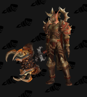 Warrior PvP Level 60 Horde Male Rare Set