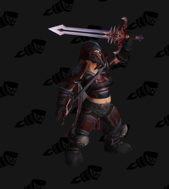 Warrior PvP Level 70 Rare Set