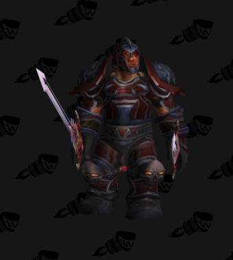 Warrior PvP Level 70 Rare Male Set